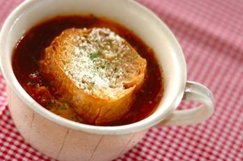 トマトオニオンスープ