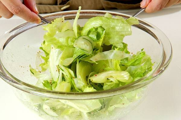 さっぱりサラダの作り方の手順5