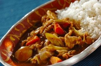 作り置き!麺つゆを使って和風カレー