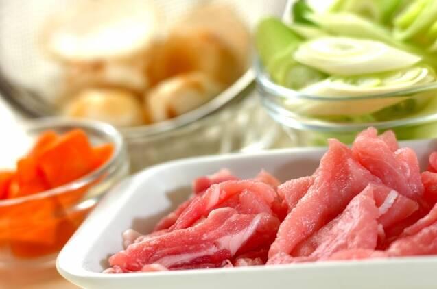 作り置き!麺つゆを使って和風カレーの作り方の手順2