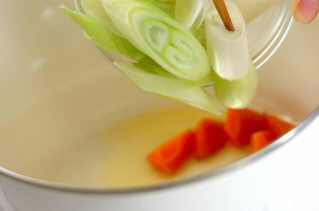 作り置き!麺つゆを使って和風カレーの作り方の手順5