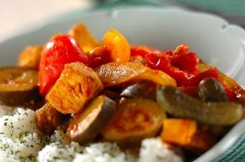 野菜たっぷりトマトカレー