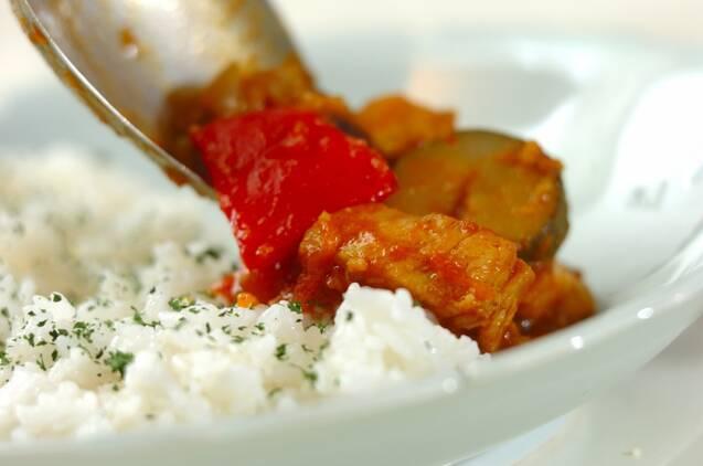 野菜たっぷりトマトカレーの作り方の手順3