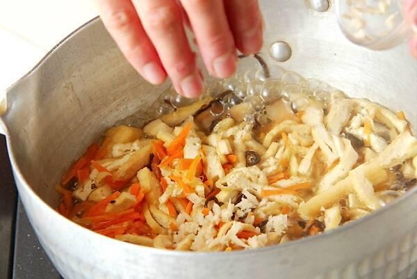 しっとり!具だくさんのおから煮の作り方の手順8