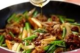 牛肉とニンニクの芽炒めの作り方4