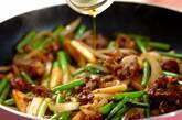 ご飯がすすむ!牛肉とニンニクの芽のオイスター炒めの作り方7