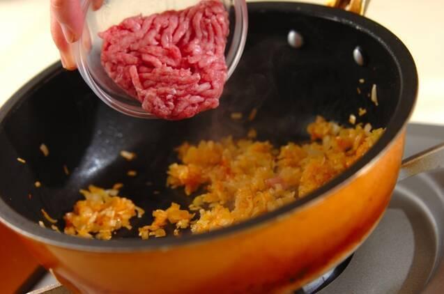 豆腐の麻婆あんかけの作り方の手順5