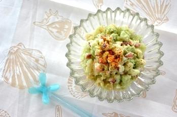 タコのグリーンサラダ