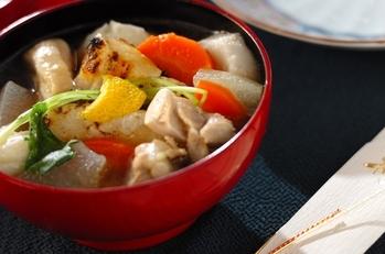 冬瓜と鶏肉のお雑煮