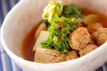 豚つくねと野菜の煮物