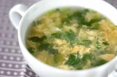 ミツバのスープ