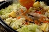 鮭のチャンチャン焼きの作り方2