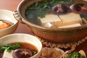 さっぱり湯豆腐