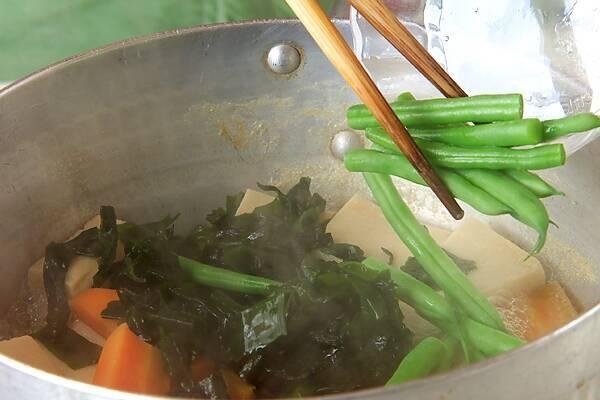 高野豆腐の煮物の作り方の手順9