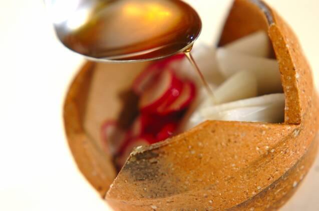 ラディッシュとワカメの酢のものの作り方の手順4