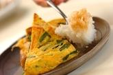 たっぷりおろしで食べるツナの卵焼きの作り方3