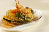 天ぷらの盛り合わせの作り方3