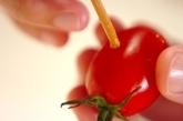 トマトのハチミツサラダの作り方1