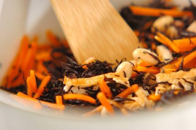 ツナ入りヒジキの煮物の作り方の手順3