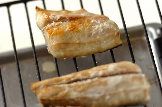 サワラのみそ焼きの作り方の手順2