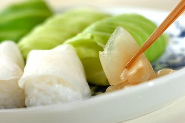 野菜寿司の作り方の手順4