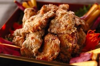 大葉みそ味鶏むね肉唐揚げ