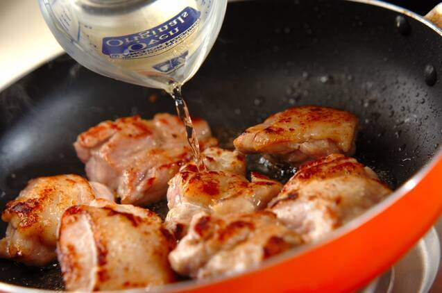チキンのレモンハーブソテーの作り方の手順5