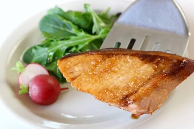 ブリのさわやかリンゴ酢照り焼きの作り方の手順6