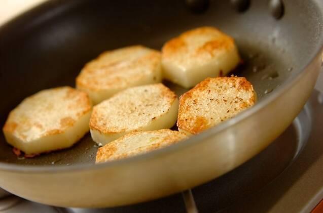 ホクホク!長芋のチーズソテーの作り方の手順2