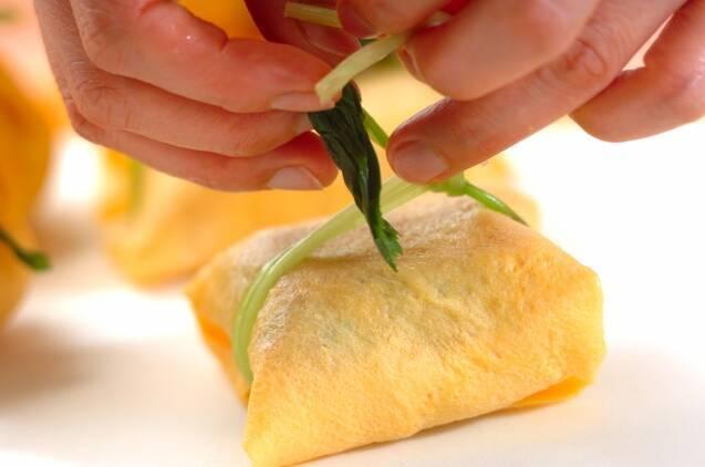 茶巾寿司の作り方の手順9