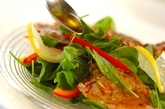 サルティンボッカのサラダ仕立ての作り方5