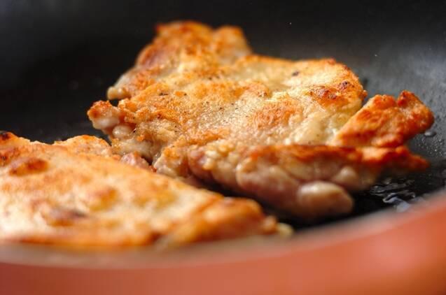 鶏もも肉のハニーマスタードサンドの作り方の手順2