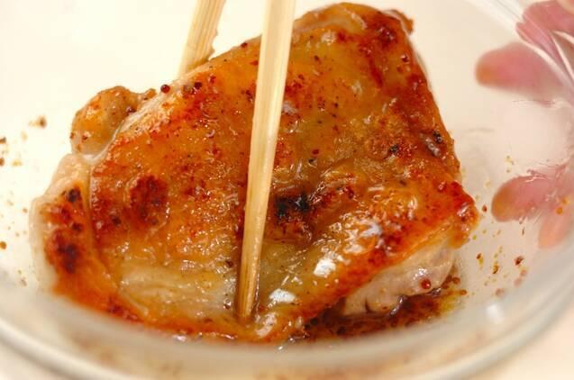 鶏もも肉のハニーマスタードサンドの作り方の手順3