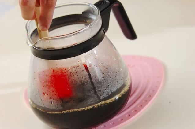 ドリップコーヒーゼリーの作り方の手順6