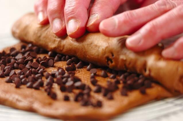 チョコロールパンの作り方の手順10