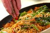 カニとホウレン草のトマトクリームパスタの作り方4