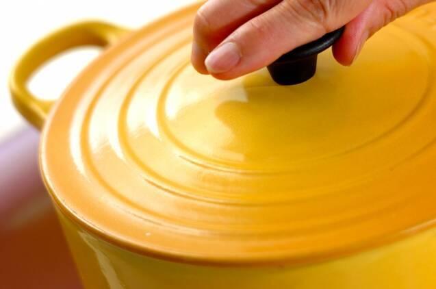 鍋で炊く乾物の旨み炊き込みご飯の作り方の手順4