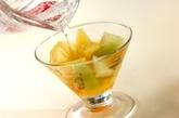 梅酒のフルーツカクテルの作り方2