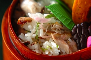 塩サバの混ぜご飯