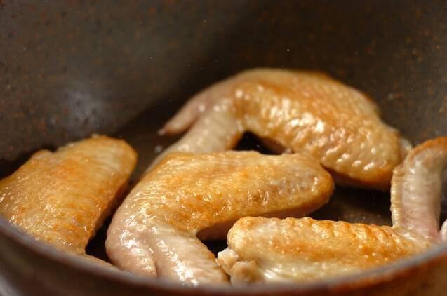 鶏手羽スープの作り方の手順2