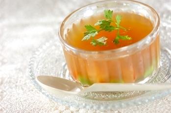 コンソメ・ジュレ・スープ