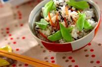ヒジキの混ぜ寿司