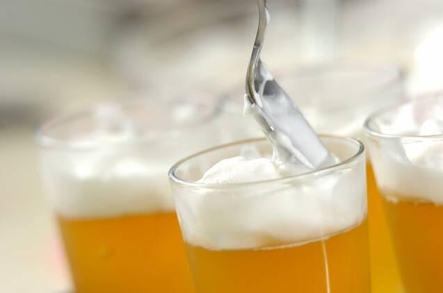 ビールみたいなリンゴゼリーの作り方の手順7