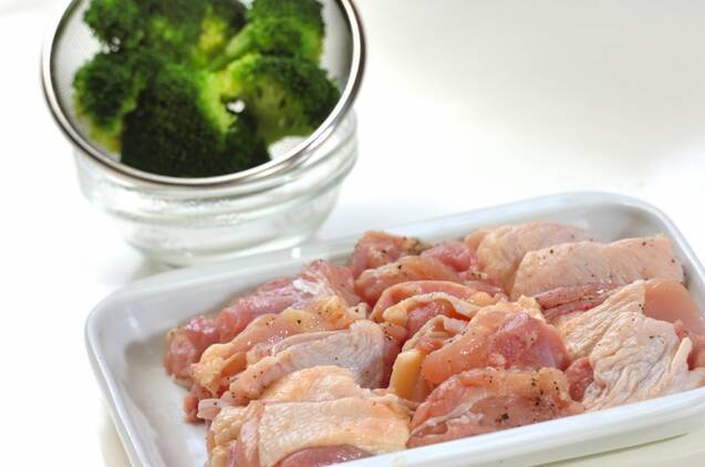 鶏肉のトマト煮の作り方の手順1