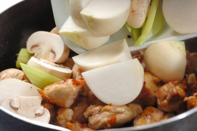 鶏肉のトマト煮の作り方の手順4