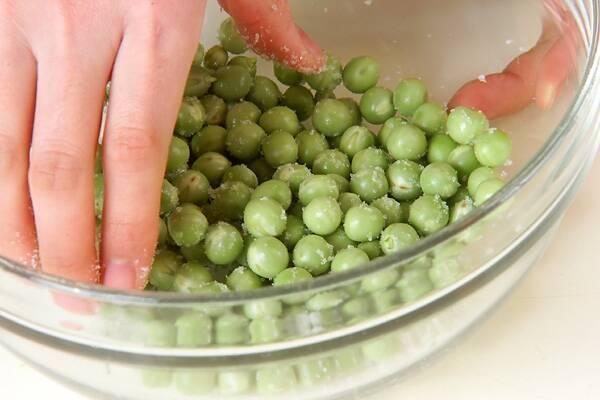 豆ごはんの作り方の手順1