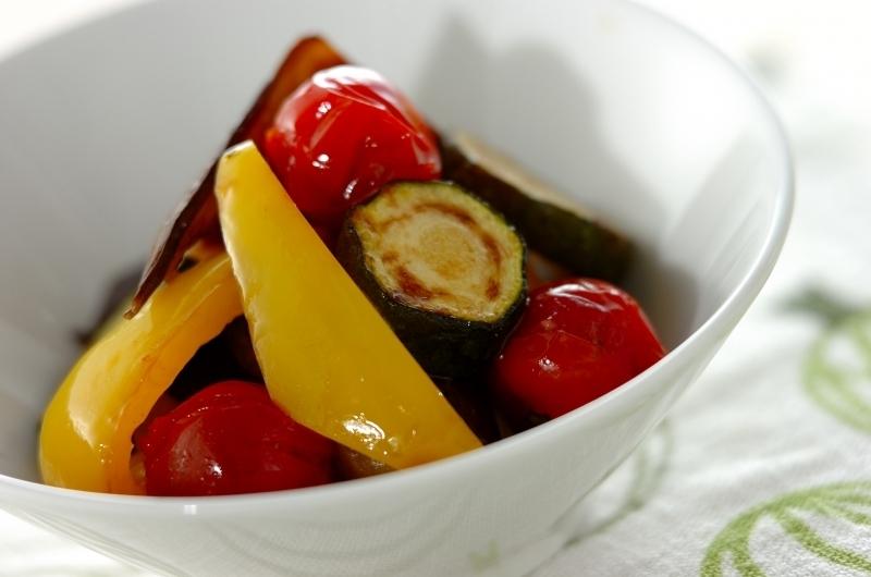 夏野菜マリネ