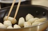 マイタケ香るきりたんぽ鍋の下準備4