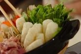 マイタケ香るきりたんぽ鍋の作り方1