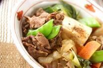 たっぷり肉豆腐